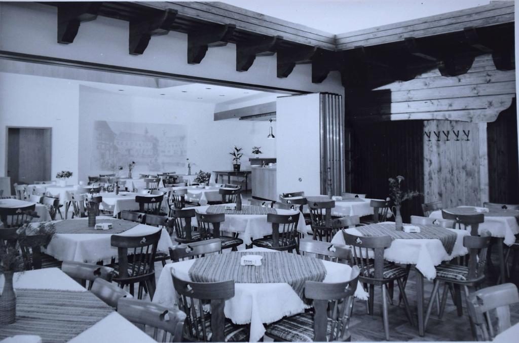 Festsaal Ende der 1970er Jahre