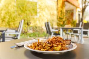 Gasthof Spitzenpfeil - Speisekarte